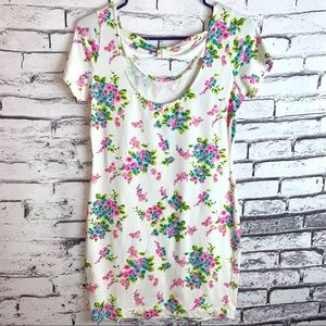Forever 21 Cotton Floral Dress